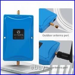 2G 3G 4G 850/1900MHz Cell Phone Signal Booster 72dB Mobile Repeater For Band 5/2