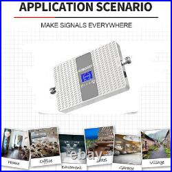 2G 3G 4G GSM Repeater Dual Band Cell Phone Signal Booster 850 1900mhz Band 2/5