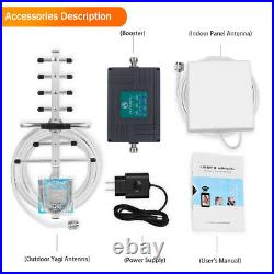 2G 3G 4G LTE Verizon 700MHz 850/1900MHz Cell Phone Signal Booster For Voice Data