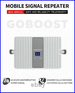 2/3/4G 850 1900MHZ Cell Phone Signal Booster Dual Band2/5 GSM Repeater Amplifier