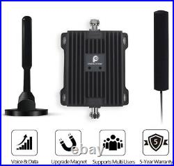 3G 4G 850/1900MHz Cell Phone Signal Booster Band 5 & 2 Repeater for Car/RV/Truck