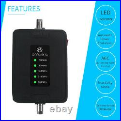 3G 4G Cell Phone 700/900/1800/2100/2600MHz Signal Booster Repeater Car Truck
