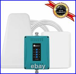 3G 4G Cell Phone Signal Booster Kit 700/850/1700/1900MHz Improve Data Voice Home
