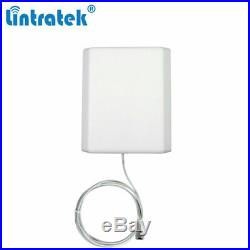 3G 4G LTE 1700 2100MHz Cell Phone LCD Signal Booster Repeater Kit 65dB for Home