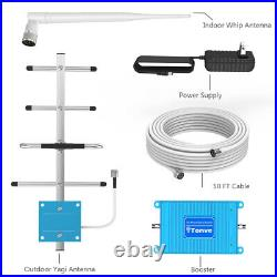 3G 4G LTE 1900MHz Cell Phone Signal Booster Band 2/25 Mobile Repeater Voice Data