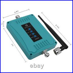 3G 4G LTE Cell Phone 700/850/1700/1900MHz Signal Booster Kit Improve Data Voice