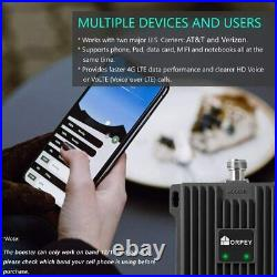 4G LTE 700MHz Band 12/17/13 Data Voice Cell Phone Signal Booster Repeater Kit