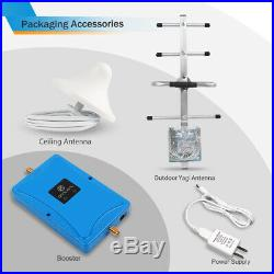 4G LTE 700MHz Cell Phone Signal Booster Band 12/17/13 For Verizon AT&T Repeater