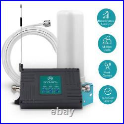 4G LTE AT&T 700/850/1900MHz Cell Phone Signal Booster For Call Data B 2/5/12/17