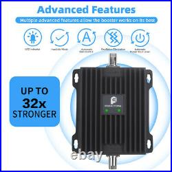 4G LTE AT&T Verizon 700MHz Cell Phone Signal Booster truck RV Improve Call Data