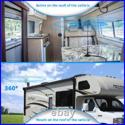 4G LTE AT&T Verizon 700MHz Cell Phone Signal Booster truck RV Improve Data Voice