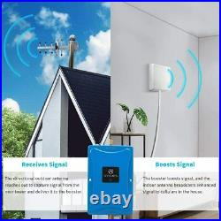 4G LTE Cell Phone 1700/2100MHz Band 66/4 Signal Booster Repeater Kit Home Office