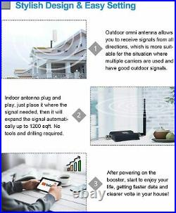 4G LTE Cell Phone Signal Booster 700MHz Band 12/13/17 Repeater Improve Signal