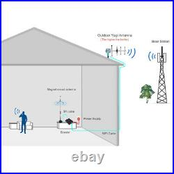 4G LTE Data AT&T 700MHz Band 12/17 Cell Phone Signal Booster Repeater Amplifier