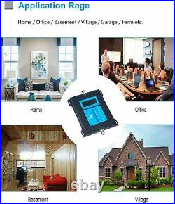 5G 4G 3G Cell Phone Signal Booster 7-Bands Improve Data Voice for US Any area
