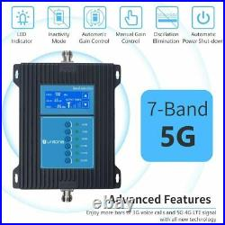 5G 4G LTE 3G 7-Band Cell Phone Signal Booster Mobile Repeater All Carriers/Area