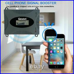 5G AWS 1700/2100MHz Band4 Cell Phone Signal Booster Amplifier AT&T FCC Approved