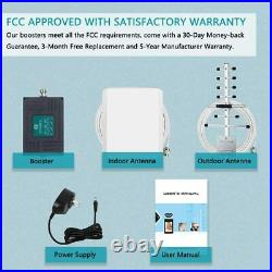 700/850MHz Cell Phone Signal Booster Band 12/13/17/5 for Verizon AT&T 4G LTE