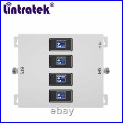800 900 1800 2100mhz B1 B3 B20 Cell Phone Signal Booster Repeater For Voice Data