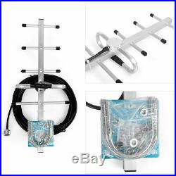 850MHz 80dB Gain Cell Phone Signal Booster for 1-2 Bar Weak 850MHz Signal Use