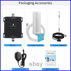 850MHz GSM 3G 4G Cell Phone Signal Booster Mobile Repeater Kit Band 5 Data Voice