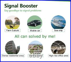 900/1800/2100/2600MHz Cell Phone Signal Booster GSM Four Band Repeater Amplifier