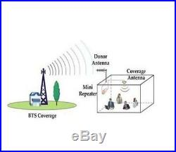 APOHALO Cell Phone booster 3g 4g DCS LTE 850/1900MHz for All Cell Phone Signal