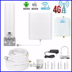 AT&T T-Mobile Sprint GSM 1900MHz Band 2 Cell Phone Signal Booster Amplifier