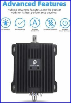 AT&T Verizon 700MHz 4G LTE Cell Phone Signal Booster Band 12/13/17 for Car Truck