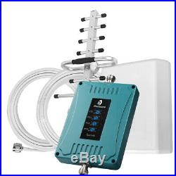 AT&T Verizon 700/850/1700/1900MHz Cell Phone Signal Booster Band 2/4/5/12/13/17