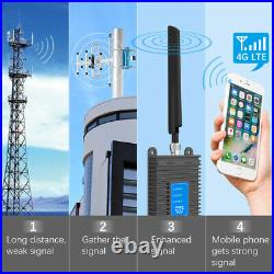 AT&T Verizon Cell Phone Signal Booster Improve 2G 3G 4G LTE Data Band 2/5/12/17