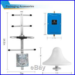 AT&T Verizon LTE 4G 700MHz Cell Phone Signal Booster Band 12/13/17 Repeater Kit