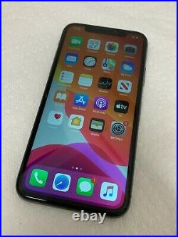As-Is Gray Unlocked Apple iPhone X 64GB No Signal / NO SERVICE READ