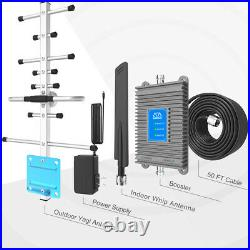 Band2/5/12/17/25/26 Cell Phone Signal Booster AT&T Verizon Amplifier Repeater