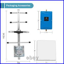 Band 8 3G 4G cell Phone Signal Amplifier Booster kit 900MHz + Yagi Antenna
