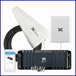 Cel-Fi GO X 100 dB Cell Phone Signal Booster with 1 Yagi and 1 Panel Antennas