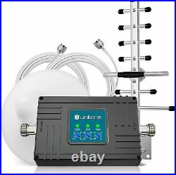 Cell Phone Signal Booster 3G 4G LTE 700/850/1900MHz Band 2/5/12/17 Data &V oice