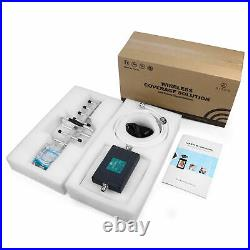 Cell Phone Signal Booster 4G LTE 700/1800MHz Band 28 Band 3 for Home Use Data