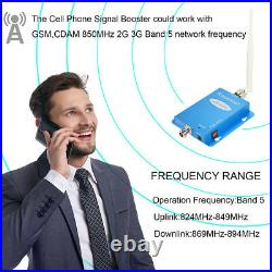 Cell Phone Signal Booster 850MHz 2G 3G 4G LTE Mobile Repeater for AT&T Verizon