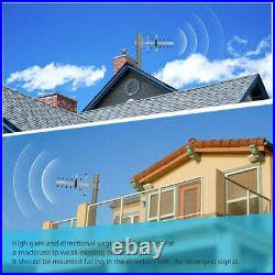 Cell Phone Signal Booster 850MHz Band 5 2G 3G 4G Enhance Voice for AT&T Verizon