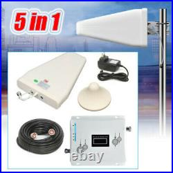 Cell Phone Signal Booster CDMA 850/1900MHz 2G/3G/4G Tri Band Amplifier Repeater