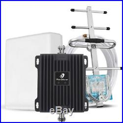 Cell Phone Signal Booster Kit 700MHz Band 12/13/17 Boost 4G LTE for Verizon AT&T