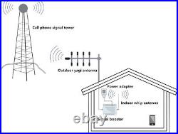 Cell Phone Signal Booster Mobile Repeater ATT 4G LTE 700MHz T-mobile Band 12/17