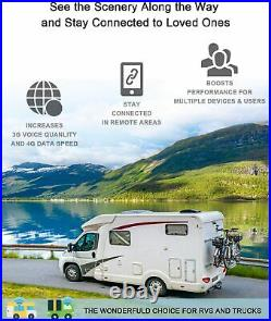 Cell Phone Signal Booster for RV, Truck, Motorhome, Boats, Cabin & Camper Use