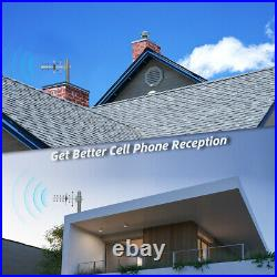 GSM 2G 3G 4G Cell Phone Signal Booster 850MHz 1700MHz Repeater for Home Use