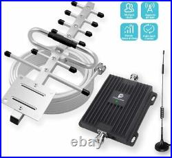 GSM 2G 3G 850/1900MHz Cell Phone Signal Booster Repeater Band 5/2 For Boost Call