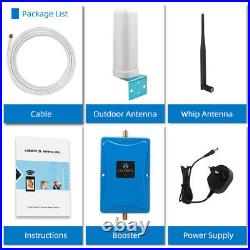 GSM 3G 4G 850MHz Cell Phone Signal Booster Band 5 Repeater For Kit Voice Data
