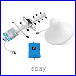 GSM 3G 4G LTE 850/2100MHz Cell Phone Signal Booster Boosts Kit Signal Data Voice