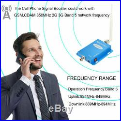 GSM AT&T Verizon 3G 4G Cellular 850mHz Band5 cell Phone Signal Booster Amplifier