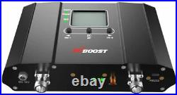 HiBoost 10K Smart Link Cell Phone Signal Booster Improves Reception on Phone